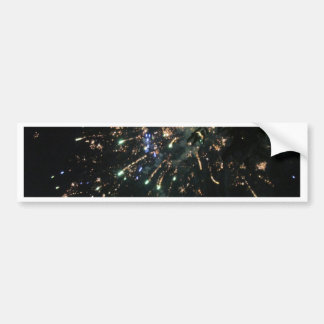 Firework 4th of July Card Bumper Sticker