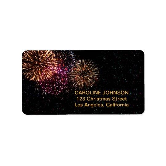 Firework Address Labels