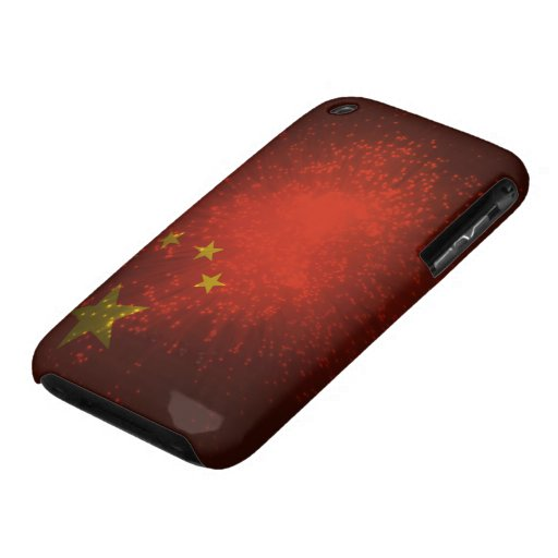 Firework; China Flag iPhone 3 Covers
