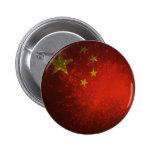 Firework; China Flag Pin