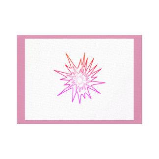 firework design canvas print