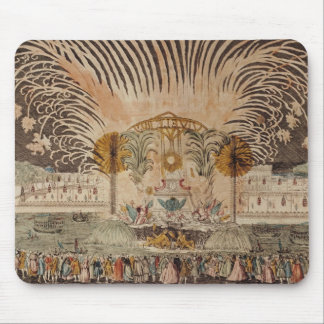 Firework Display in the Place Louis XV Mouse Mat