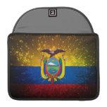 Firework; Ecuador Flag Sleeve For MacBooks