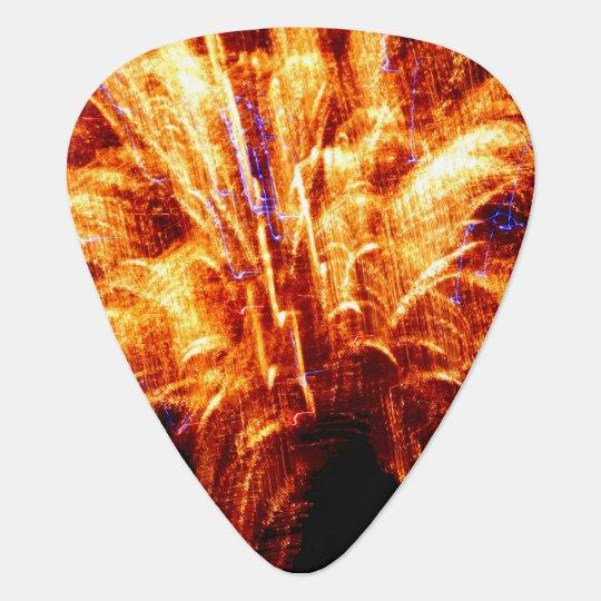 Firework Guitar Pick