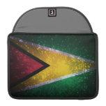 Firework; Guyana Flag Sleeve For MacBooks