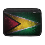 Firework; Guyana Flag Sleeves For MacBook Air