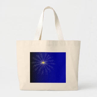 Firework Large Tote Bag