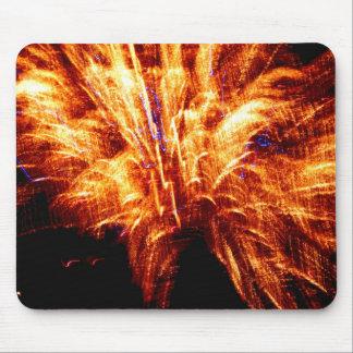 Firework Mouse Mat