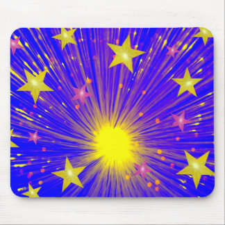 Firework mousepad