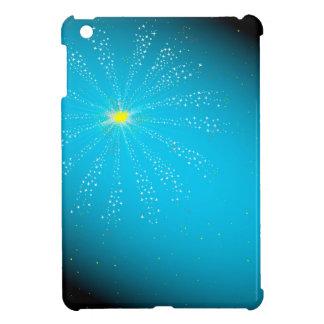 Firework On Blue iPad Mini Cover