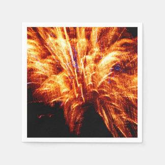 Firework Paper Napkins
