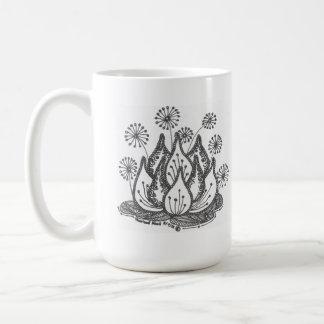 Firework Pond Lily Coffee Mug