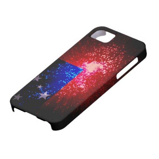 Firework; Samoa Flag iPhone 5 Covers