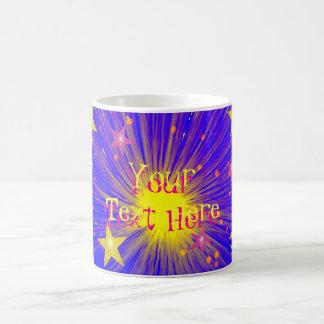 Firework 'Your Text' mug