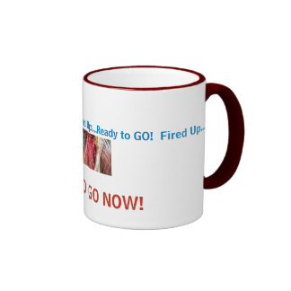 fireworkcolors, Fired Up...Ready to GO!  Fired ... Coffee Mugs