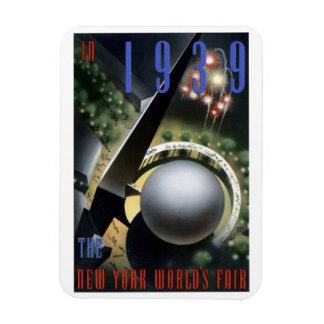 """""""Fireworks"""" - 1939 NY World's Fair Magnet"""