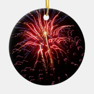 Fireworks 2 christmas ornament