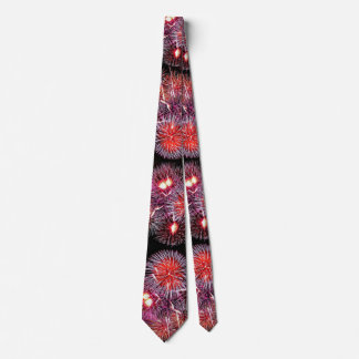Fireworks - 4th of July Tie