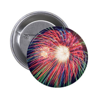 Fireworks 6 Cm Round Badge