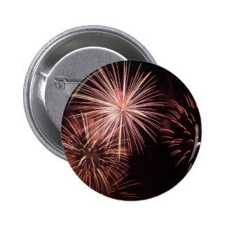 Fireworks 8 6 cm round badge