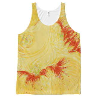 Fireworks All-Over Print Tank Top