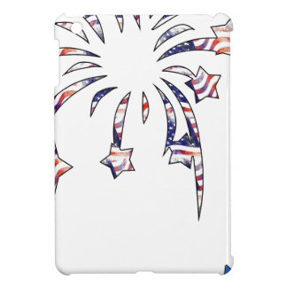 Fireworks America USA National Flag Independence D Cover For The iPad Mini