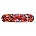 FIREWORKS! (an abstract art design) ~ Skateboard