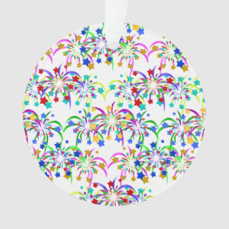 Fireworks and Stars Ornament