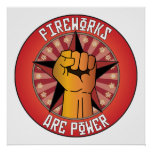 Fireworks Are Power Posters