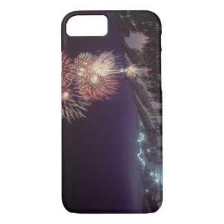 Fireworks at Big Mountain Resort in Whitefish, iPhone 8/7 Case