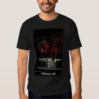 FIREWORKS AT THE WHITE HOUSE SHIRTS