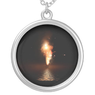 Fireworks at Waters Edge Pendant