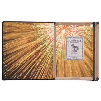 Fireworks Bursts iPad Case