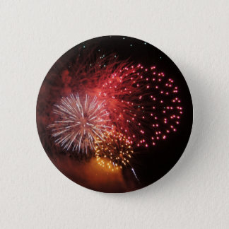Fireworks Button - Red Fireworks