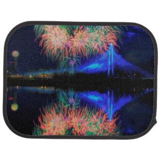 Fireworks Car Mat