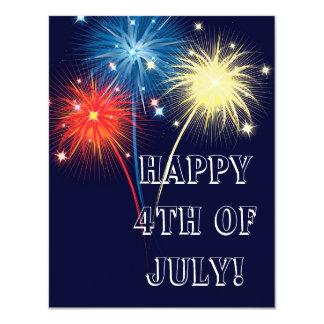 Fireworks Card