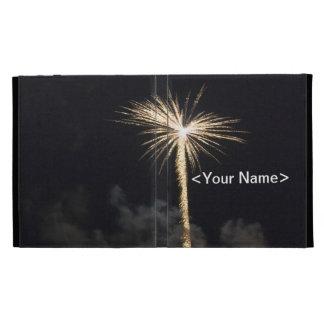 Fireworks Celebration at Night iPad Folio Cases
