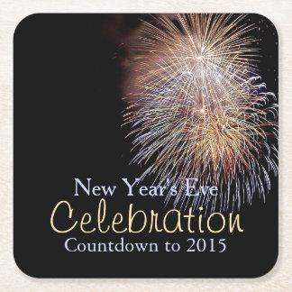 Fireworks Celebration New Year's Eve Coasters