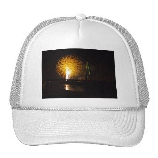 Fireworks Christopher S. Bond Bridge Kansas City 2 Hat