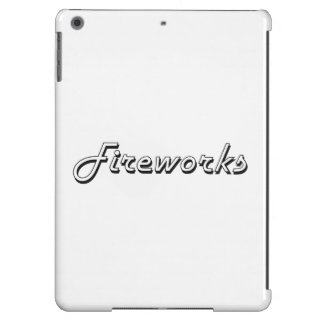 Fireworks Classic Retro Design iPad Air Case