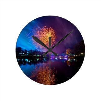 Fireworks Clocks