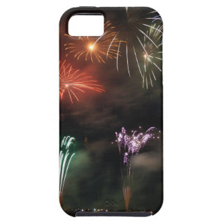 Fireworks Colorful Night Sky iPhone 5 Cases