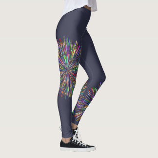 Fireworks Custom Leggings