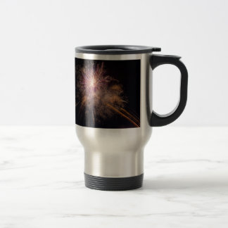 Fireworks custom monogram mugs