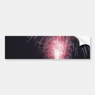 Fireworks Diego Bay On The Fourth Of July Bumper Stickers