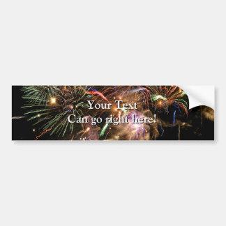 Fireworks Display Bumper Stickers