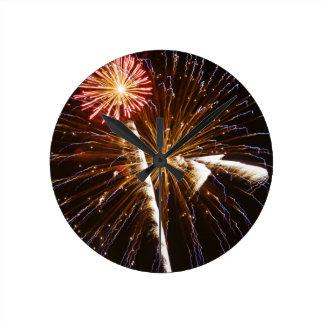 Fireworks display on Savannah River 2 Clock