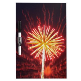 fireworks dry erase board