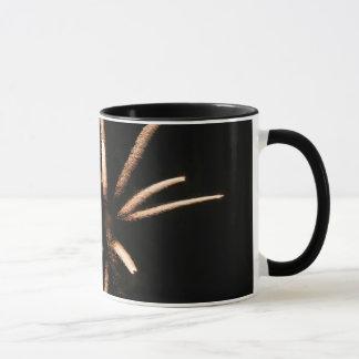 Fireworks festive mug