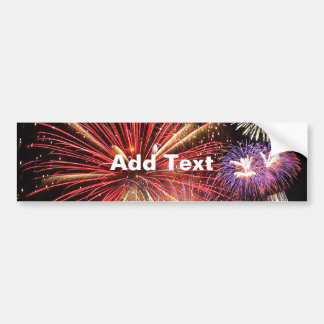 Fireworks Finale Bumper Sticker